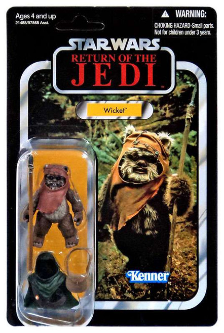 Star Wars Return of the Jedi Vintage Collection 2010 Wicket Action Figure #27
