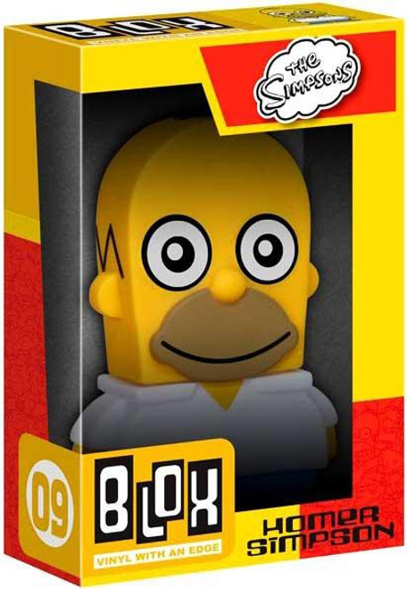 Funko The Simpsons BLOX Homer Simpson 7-Inch Vinyl Figure