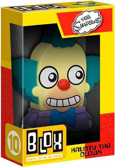 Funko The Simpsons BLOX Krusty the Clown 7-Inch Vinyl Figure