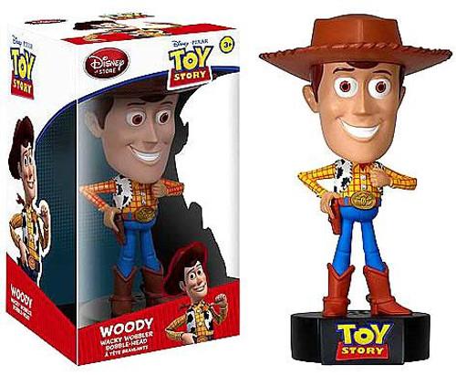 Funko Toy Story Wacky Wobbler Talking Woody Exclusive Bobble Head
