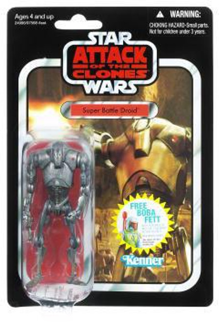 Star Wars Attack of the Clones Vintage Collection 2011 Super Battle Droid Action Figure #37