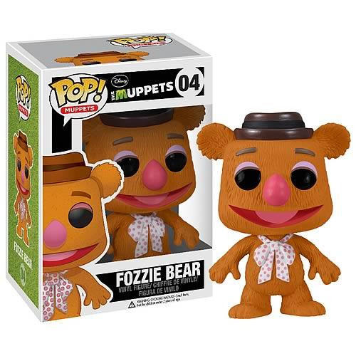 The Muppets Funko POP! Television Fozzie Bear Vinyl Figure #04