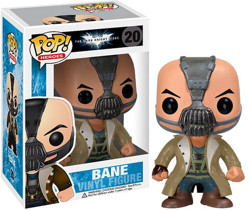 Batman Funko POP! Heroes Bane Vinyl Figure #20 [The Dark Knight Rises]