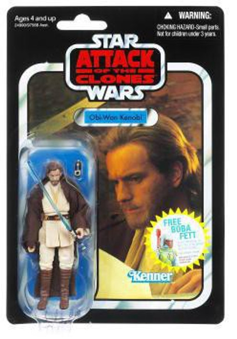 Star Wars Attack of the Clones Vintage Collection 2011 Obi Wan Kenobi Action Figure #31