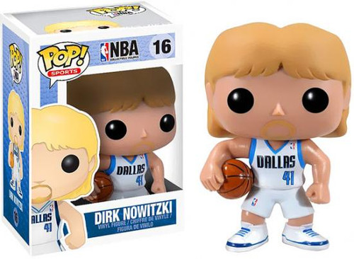 NBA Funko POP! Sports Dirk Nowitzki Vinyl Figure #16