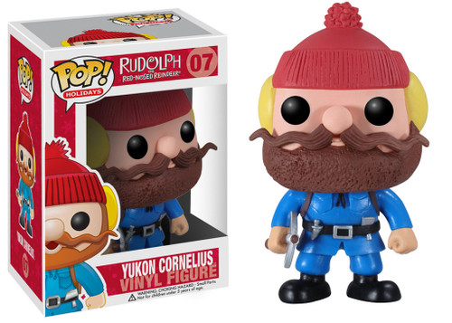 Rudolph the Red-Nosed Reindeer Funko POP! Holidays Yukon Cornelius Vinyl Figure #07 [Damaged Package, Mint Contents!]