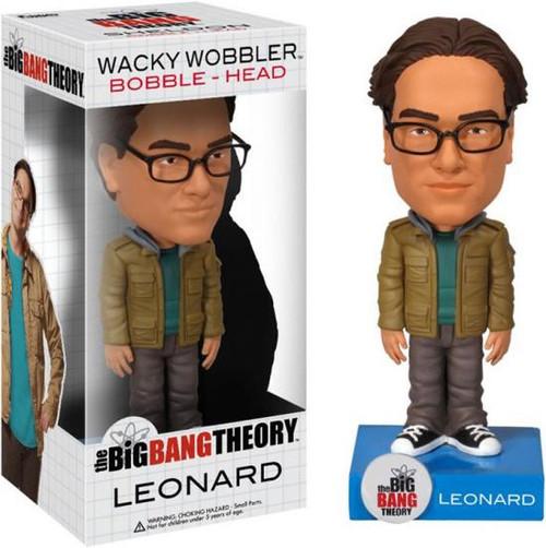 Funko The Big Bang Theory Wacky Wobbler Leonard Bobble Head