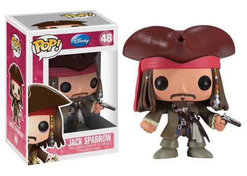 Pirates of the Caribbean Funko POP! Disney Jack Sparrow Vinyl Figure #48