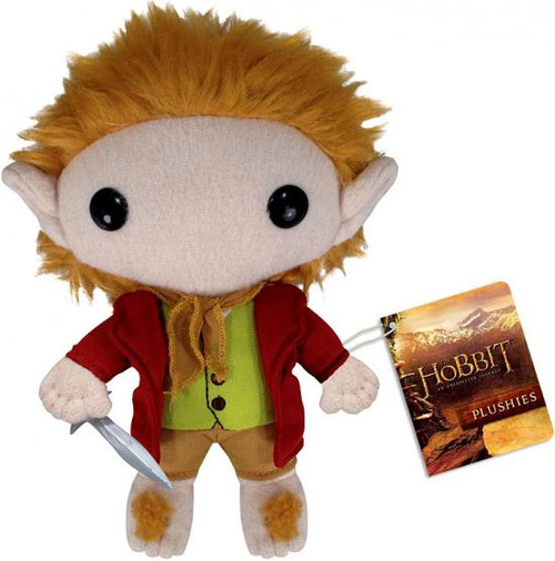 The Hobbit An Unexpected Journey Funko 5 Inch Plushies Bilbo Baggins Plush