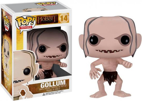 The Hobbit The Desolation of Smaug Funko POP! Movies Gollum Vinyl Figure #14