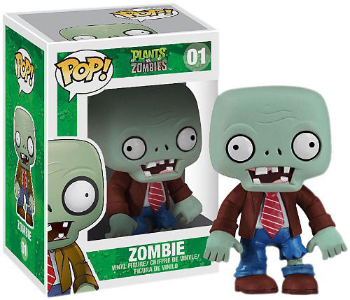 Plants vs. Zombies Funko POP! Games Zombie Vinyl Figure #01