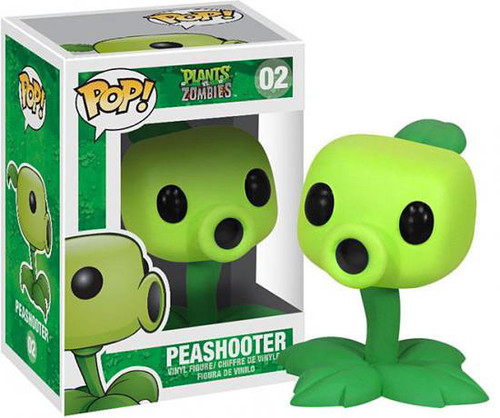 Plants vs. Zombies Funko POP! Games Peashooter Vinyl Figure #02