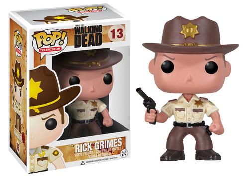 Walking Dead Funko POP! Television Sherriff Rick Grimes Vinyl Figure #13