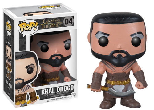 Funko POP! Game of Thrones Khal Drogo Vinyl Figure #04
