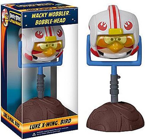 Funko Star Wars Angry Birds Wacky Wobbler Luke X-Wing Bird Bobble Head