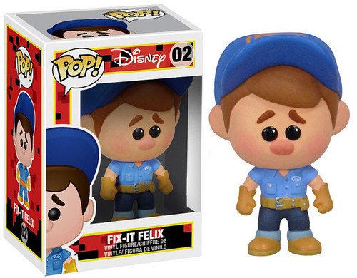 Wreck-It Ralph Funko POP! Disney Fix-it Felix Vinyl Figure #02