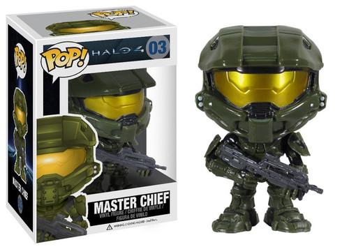 Halo 4 Funko POP! Halo Master Chief Vinyl Figure #03 [Dark Green Armor]