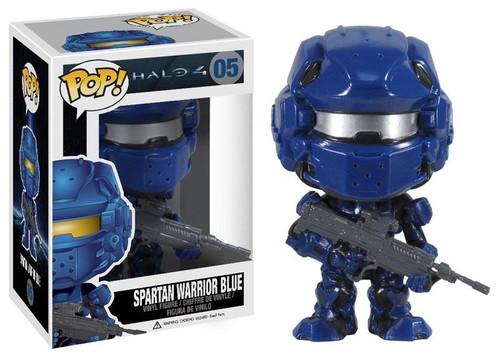 Halo 4 Funko POP! Halo Spartan Warrior Blue Vinyl Figure #05