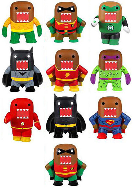 Funko Domo DC Mystery Minis 2.5-Inch Set of 10 Minifigures [Loose]