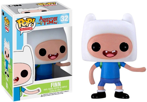 Adventure Time Funko POP! Television Finn Vinyl Figure #32