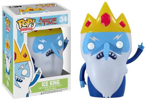 Adventure Time Funko POP! Television Ice King Vinyl Figure #34
