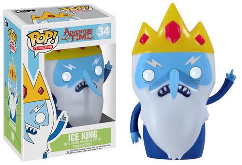 Adventure Time Funko POP! Television Ice King Vinyl Figure #34