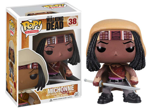 Walking Dead Funko POP! Television Michonne Vinyl Figure #38