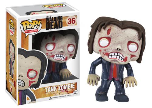 Walking Dead Funko POP! Television Tank Zombie Vinyl Figure #36