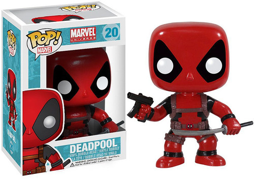 Marvel Universe Funko POP! Marvel Deadpool Vinyl Bobble Head #20