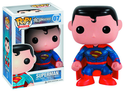 DC Universe Funko POP! Heroes Superman Exclusive Vinyl Figure #07 [New 52 Version]