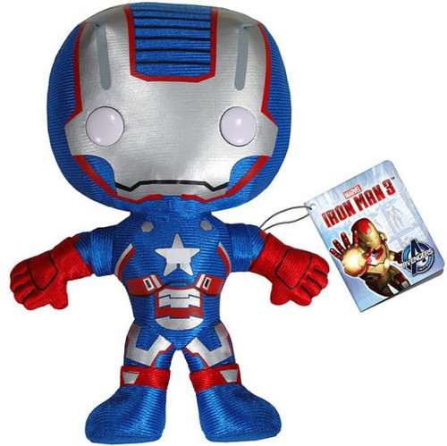 Iron Man 3 Funko 5 Inch Plushies Iron Patriot Plush