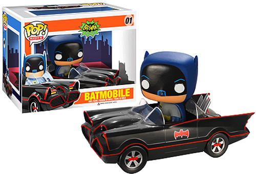 Batman 1966 TV Series Funko POP! Television Batmobile Vinyl Vehicle #1