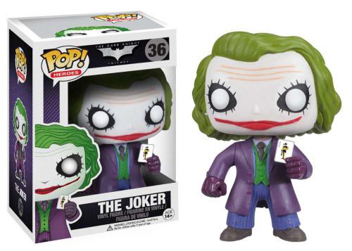 Batman The Dark Knight Funko POP! Heroes The Joker Vinyl Figure #36 [The Dark Knight]