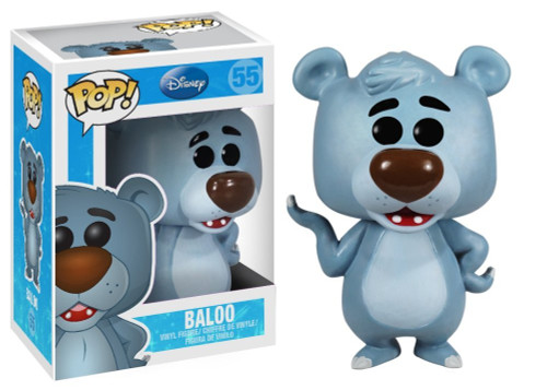 The Jungle Book Funko POP! Disney Baloo Vinyl Figure #55