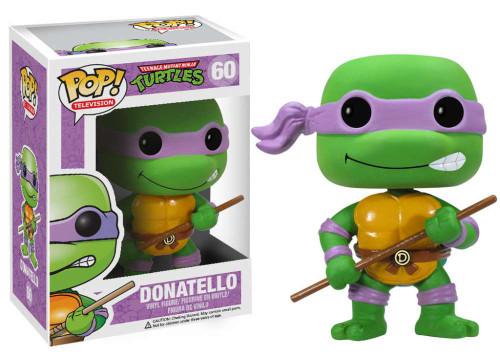 Teenage Mutant Ninja Turtles Funko POP! Television Donatello Vinyl Figure #60
