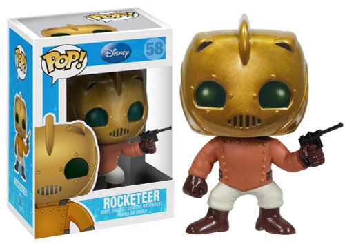 Funko POP! Disney The Rocketeer Vinyl Figure #58