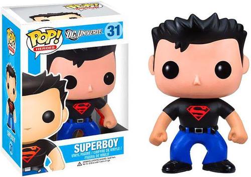 DC Universe Funko POP! Heroes Superboy Vinyl Figure #31