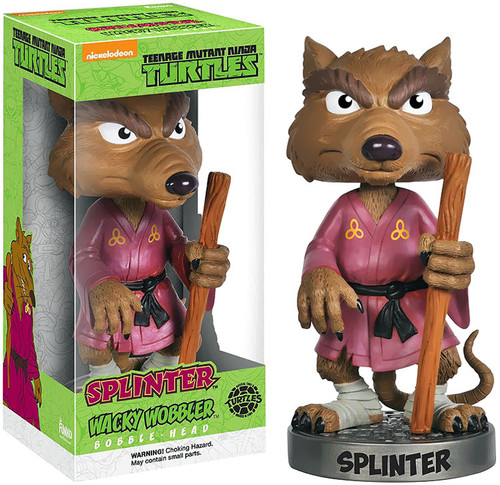 Funko Teenage Mutant Ninja Turtles Wacky Wobbler Splinter Bobble Head