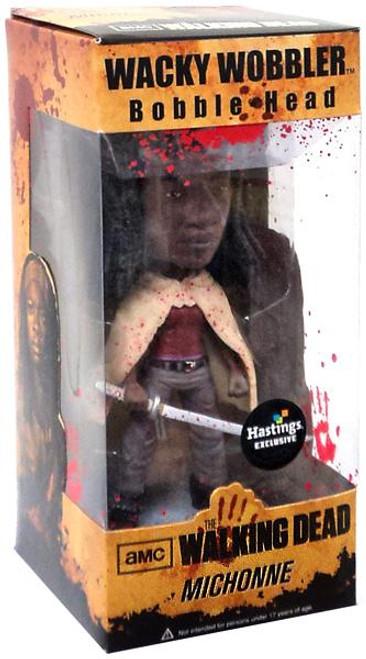 Funko Walking Dead Wacky Wobbler Michonne Exclusive Bobble Head [Bloody]