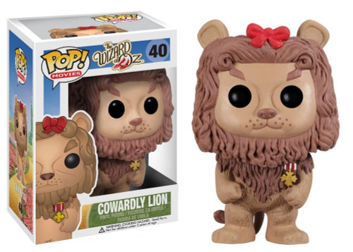 The Wizard of Oz Funko POP! Movies Cowardly Lion Vinyl Figure #40