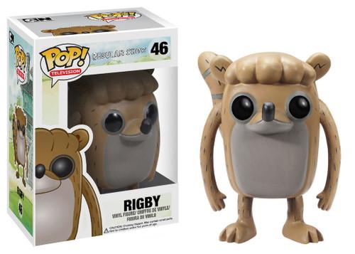 Cartoon Network Regular Show Funko POP! Television Rigby Vinyl Figure #46