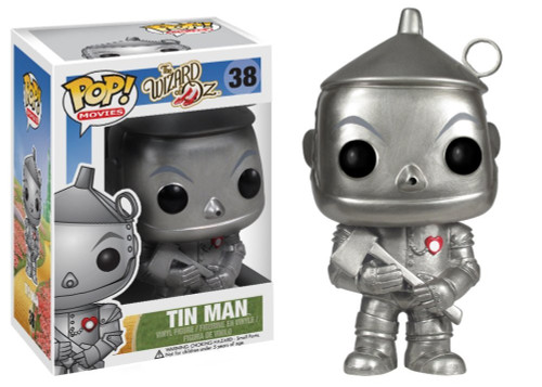 The Wizard of Oz Funko POP! Movies Tin Man Vinyl Figure #38
