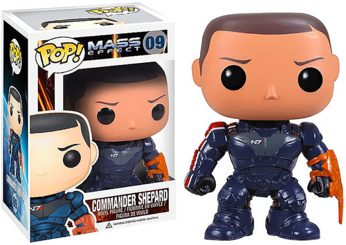 Mass Effect Funko POP! Games Commander Shepard Vinyl Figure #09