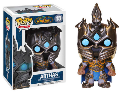 World of Warcraft Funko POP! Games Arthas Vinyl Figure #15
