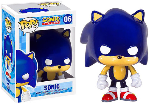 Sonic The Hedgehog Funko POP! Games Sonic Vinyl Figure #06