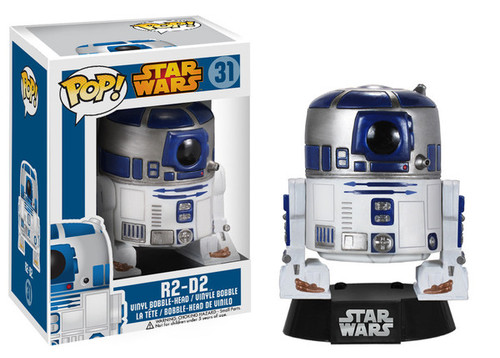 Funko POP! Star Wars R2-D2 Vinyl Bobble Head #31