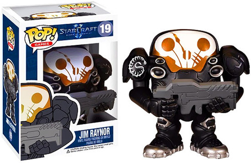 Starcraft II Funko POP! Games Jim Raynor Vinyl Figure #19