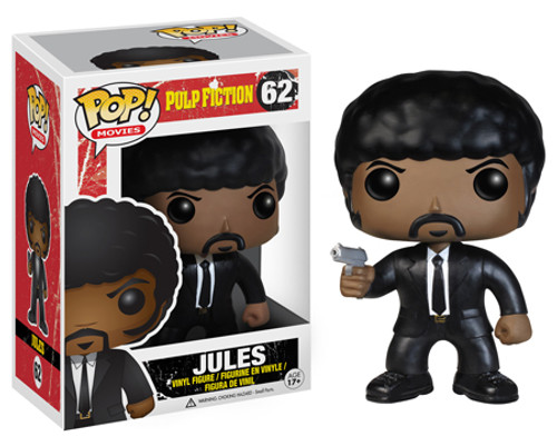 Pulp Fiction Funko POP! Movies Jules Vinyl Figure #62