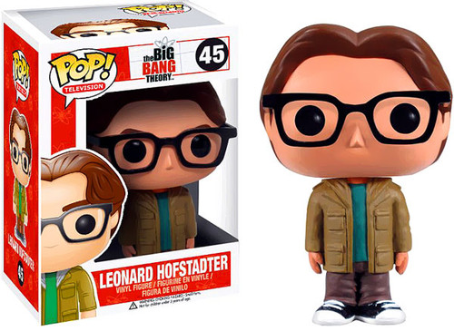 The Big Bang Theory Funko POP! Television Leonard Hofstadter Vinyl Figure #45