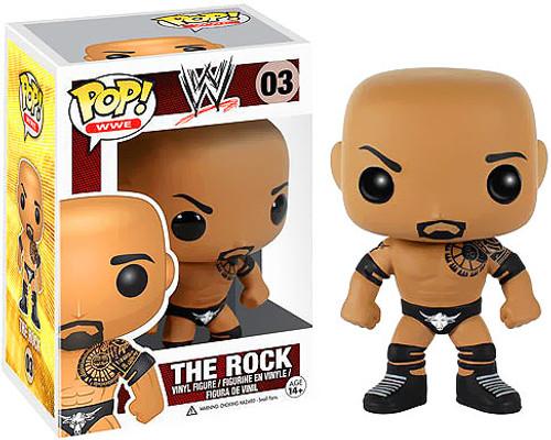 WWE Wrestling Funko POP! Sports The Rock Vinyl Figure #03